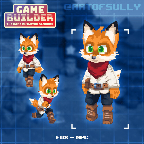 Fox - NPC (asset for 'Game Builder')