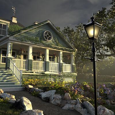 Eric keller house render