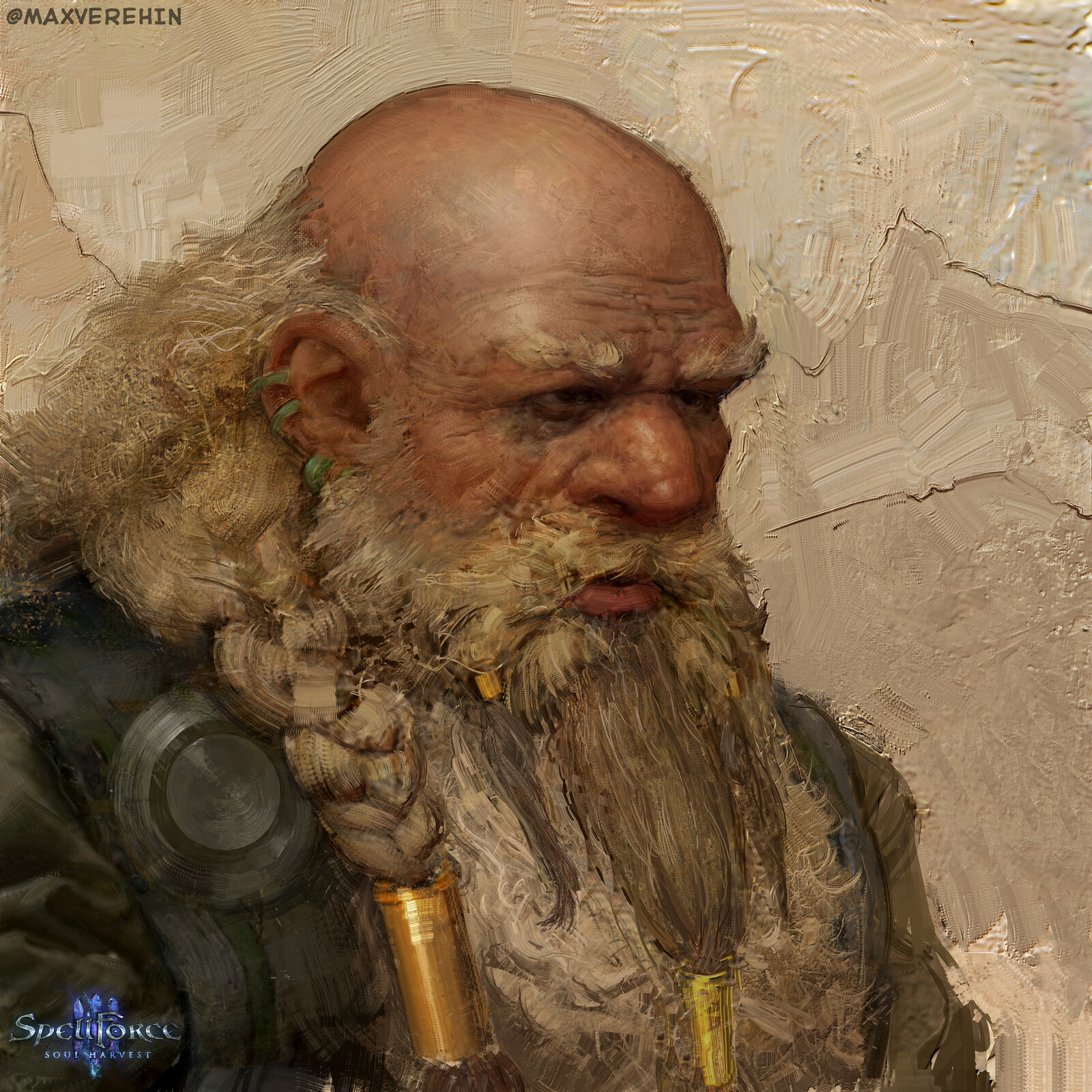 SpellForce 3 dwarfs portraits