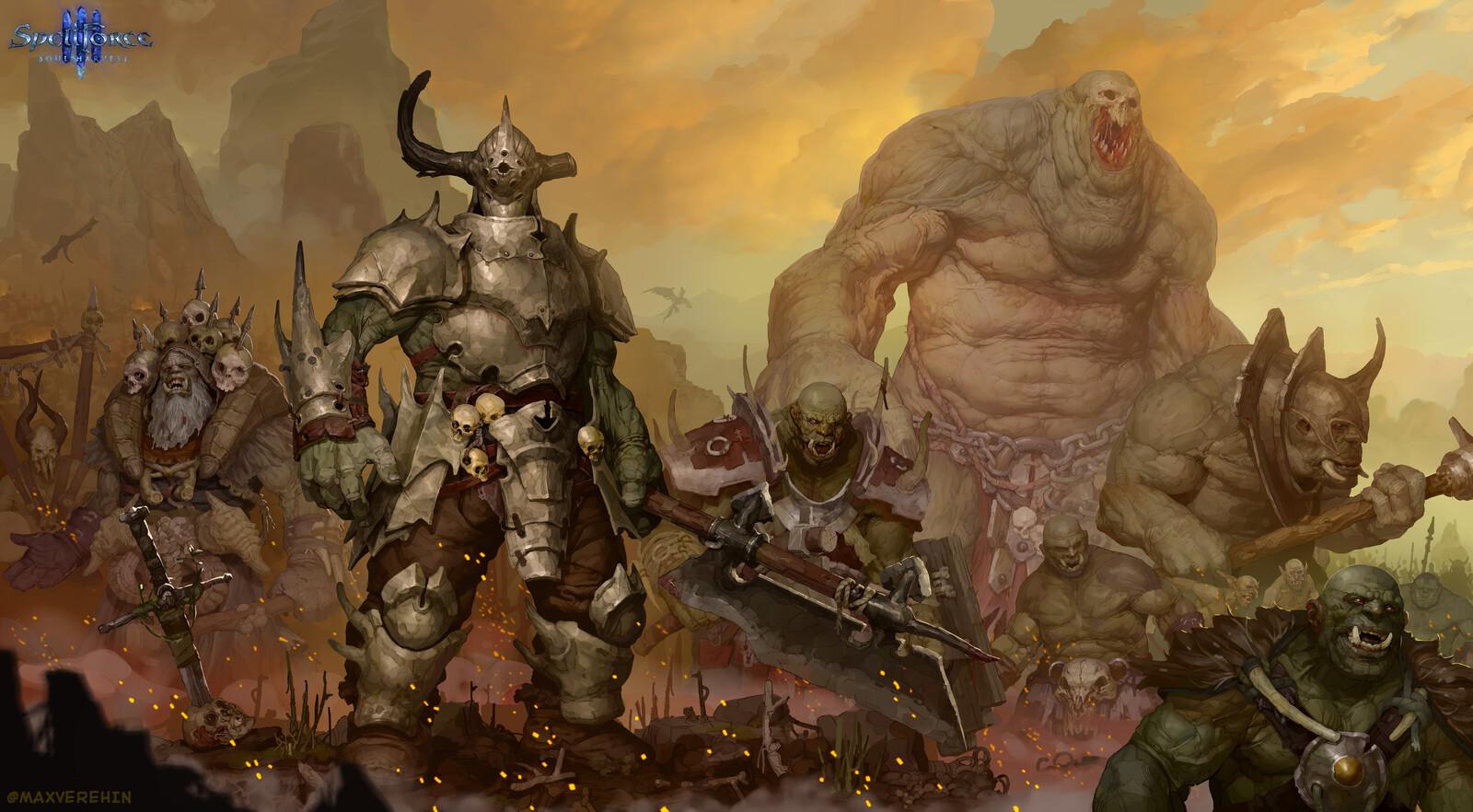 Orks army