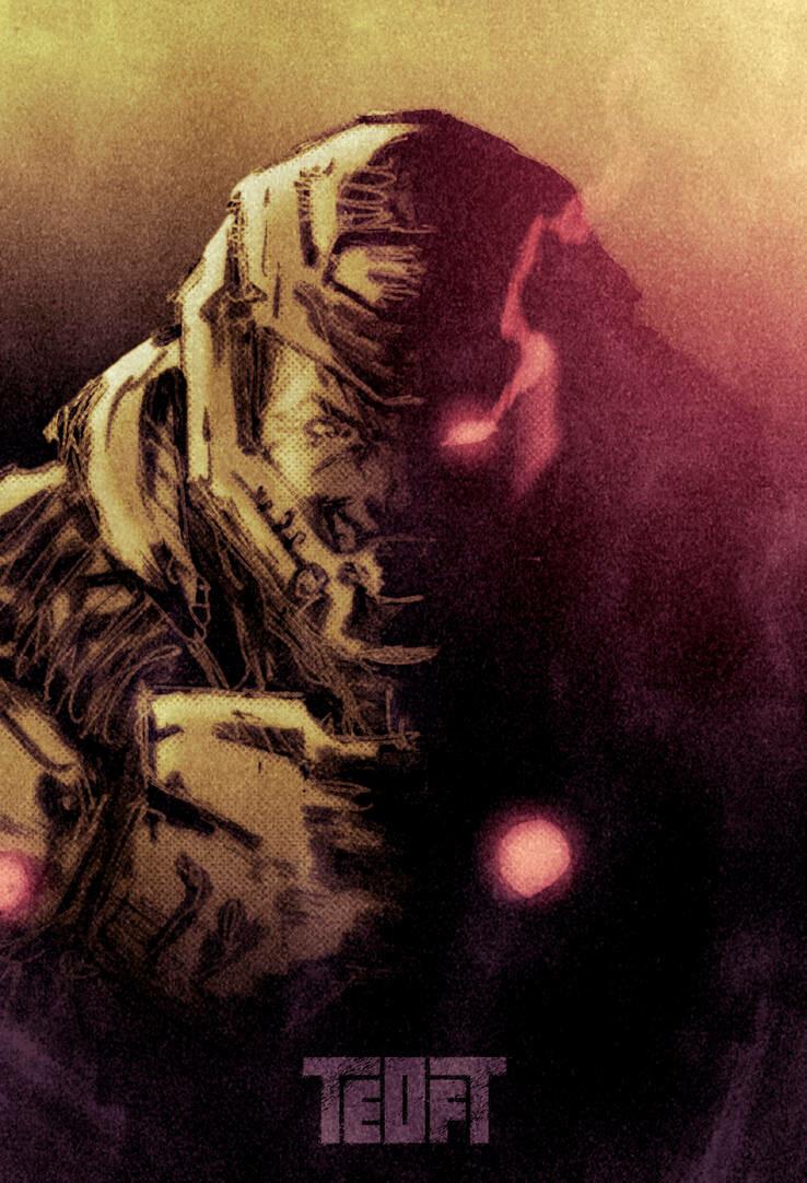 Artstation Doom Slayer Teoft