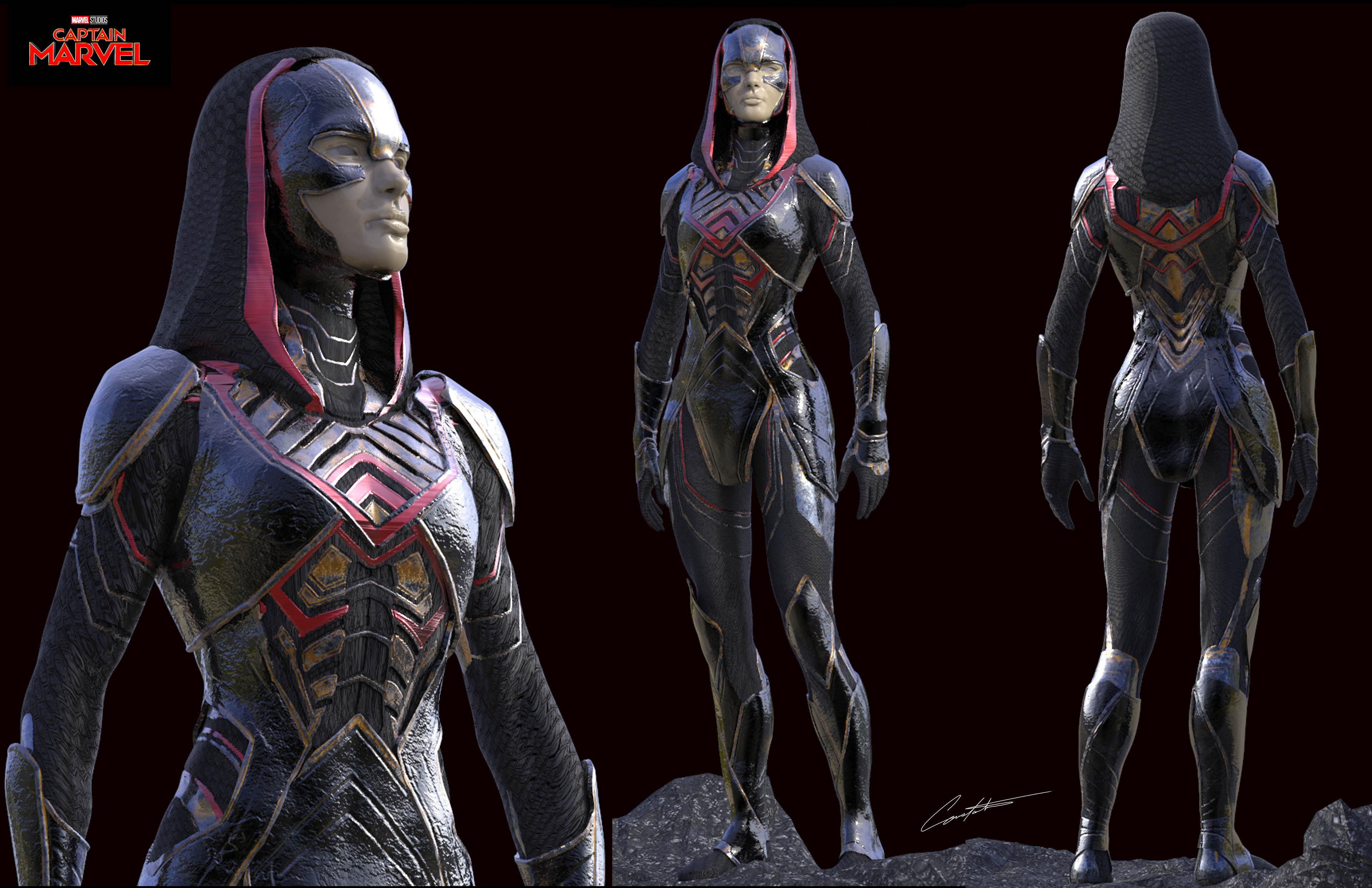 Captain Marvel early Kree exploration