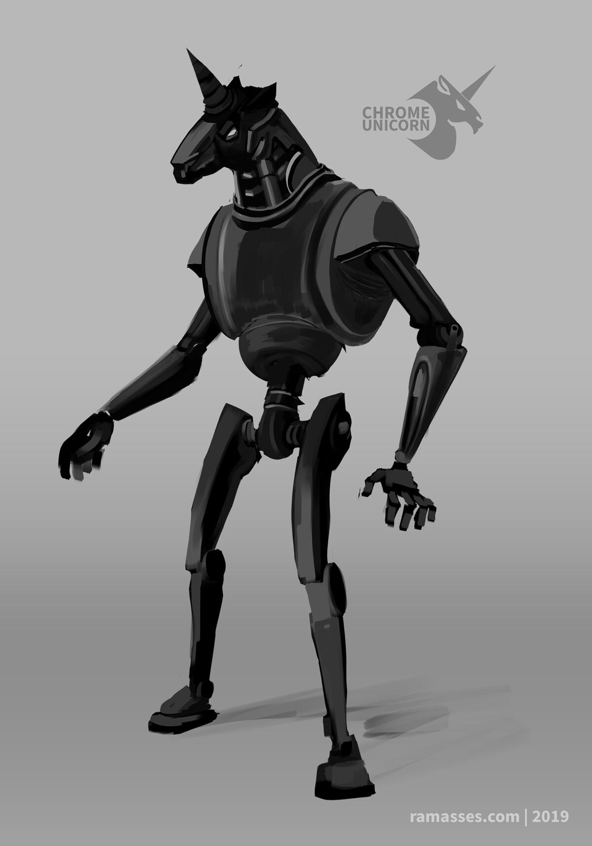 Ramasses romero robotunicorn