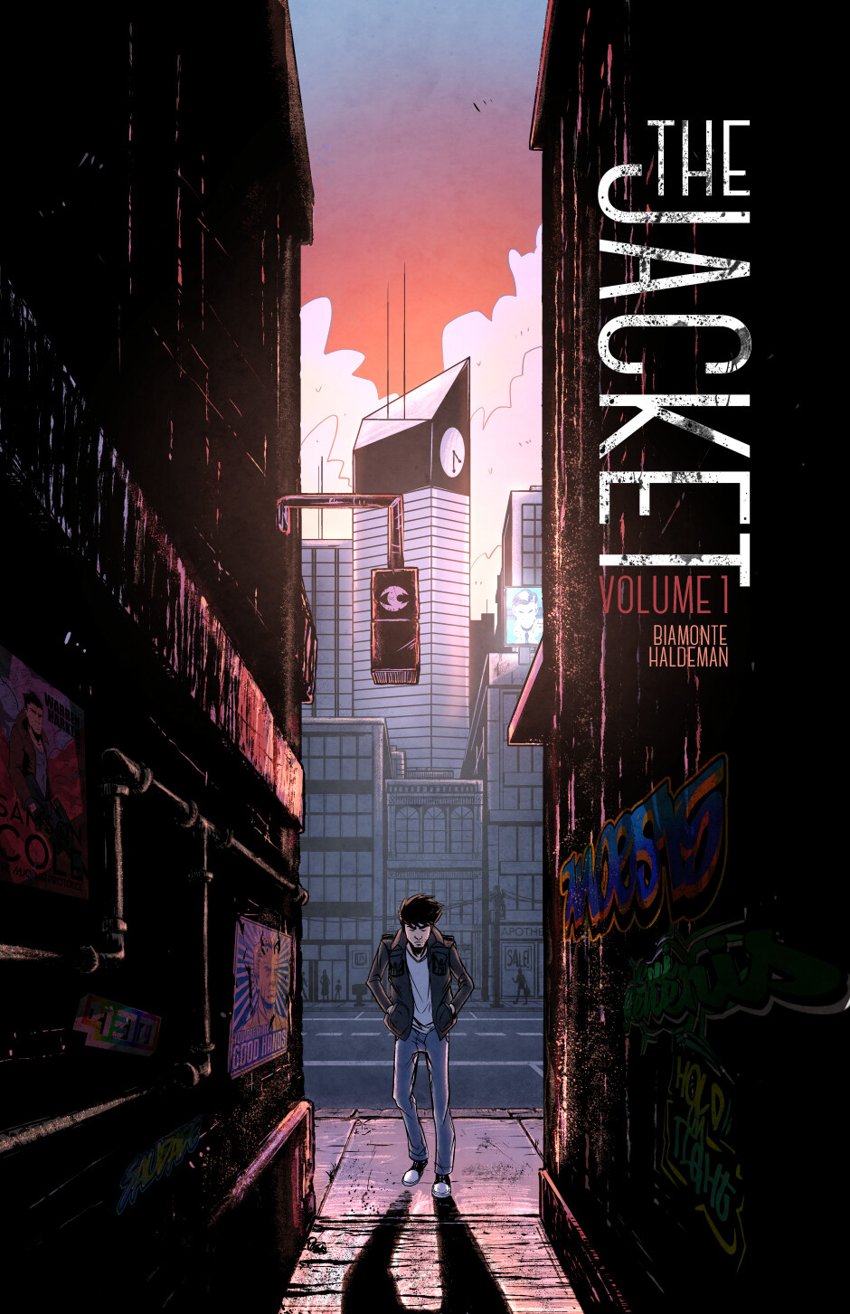 The Jacket: Volume 1 cover.
