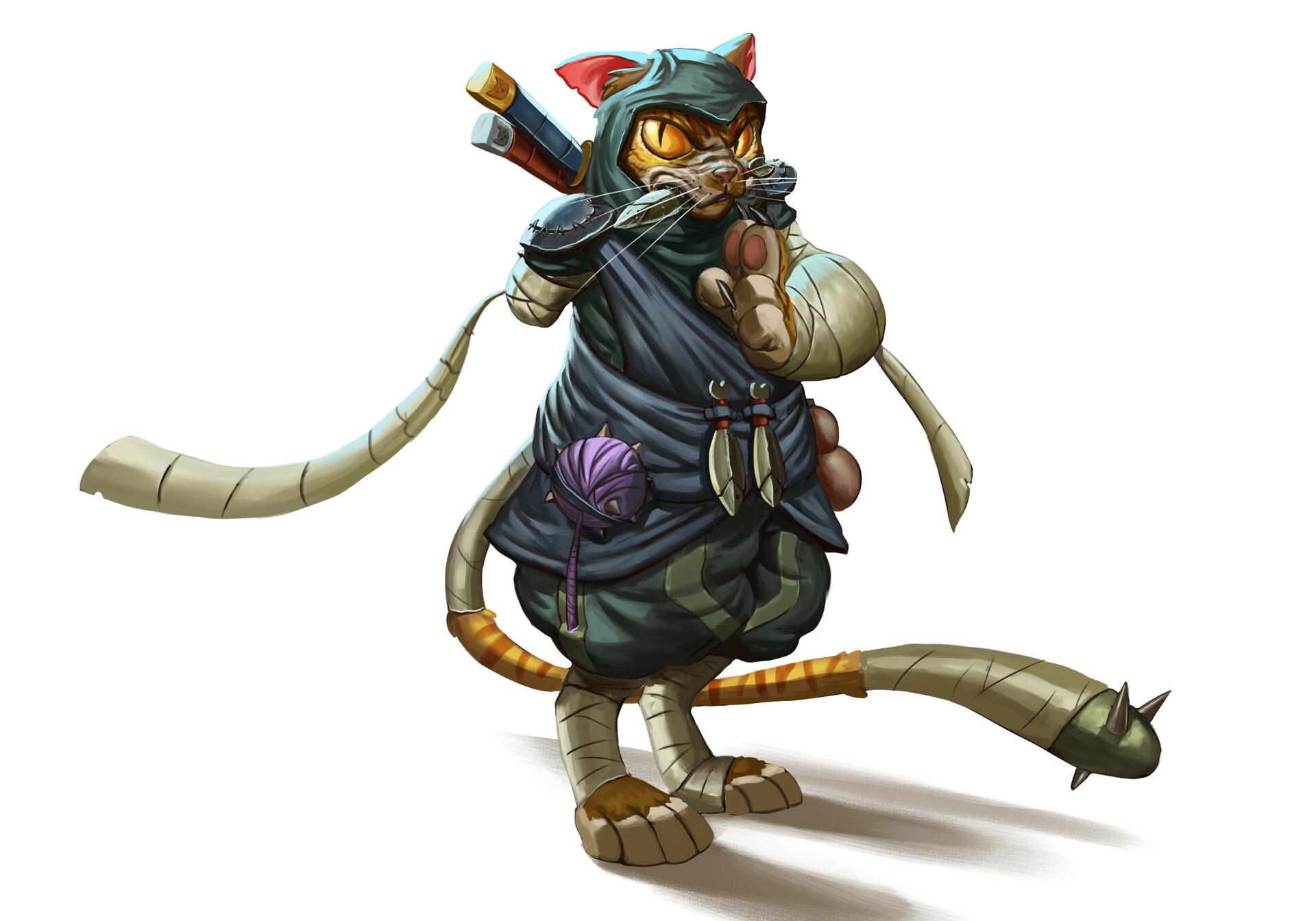 Juanda rico jazz the ninja cat