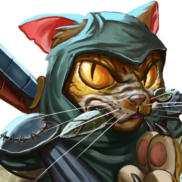 Juanda rico jazz the ninja cat 1