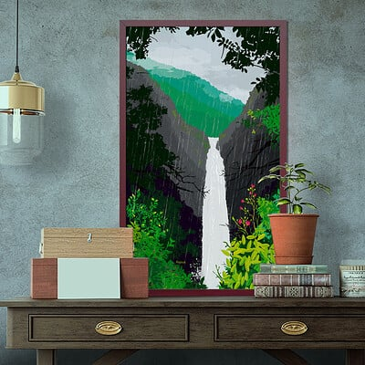 Rajesh r sawant water fall mockup crop