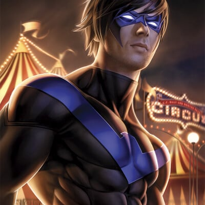 Warren louw nightwing 61 by warren louw