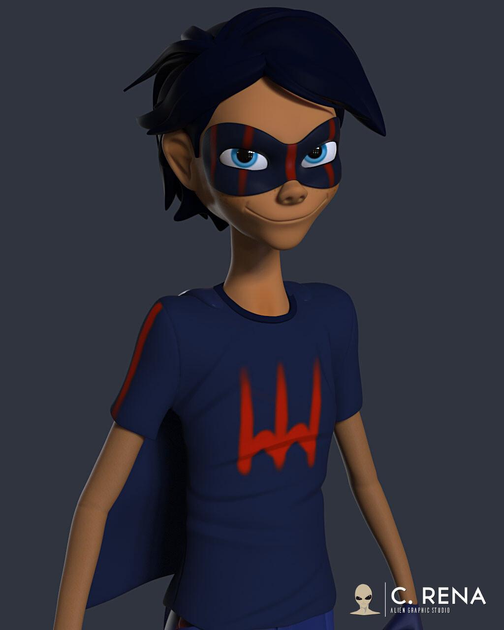 Kyle Super Hero variation #2