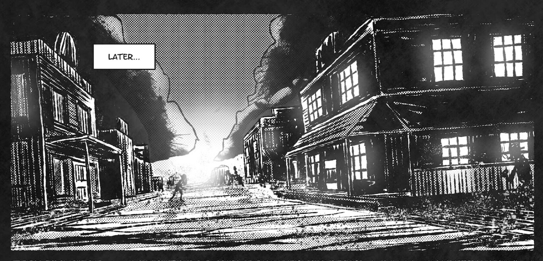 Panel from Give Up the Ghost.