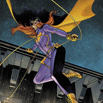 Batgirl Annual 02 Sample Colours