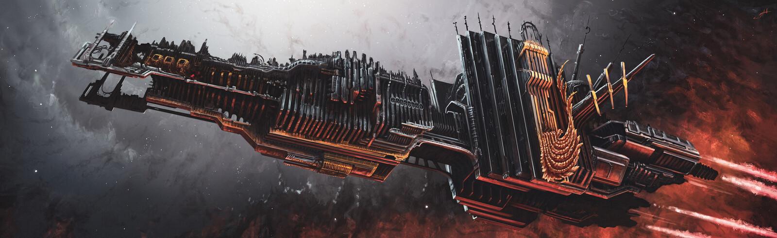 Ancient Epic battleship