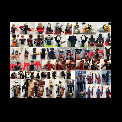 Akos Salati - My Custom Lego Minifigures Huge Collection