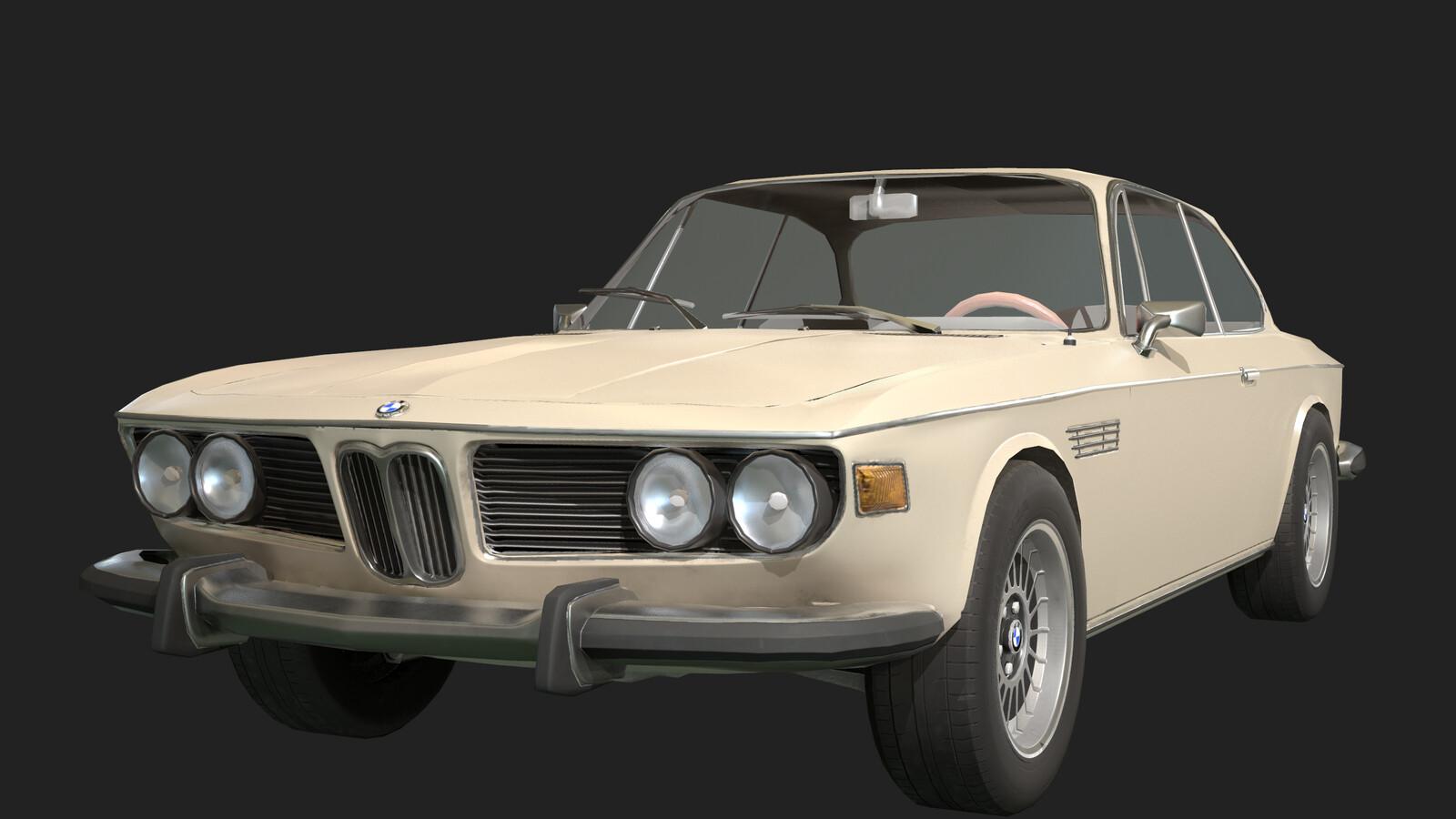 BMW E9 Game Model