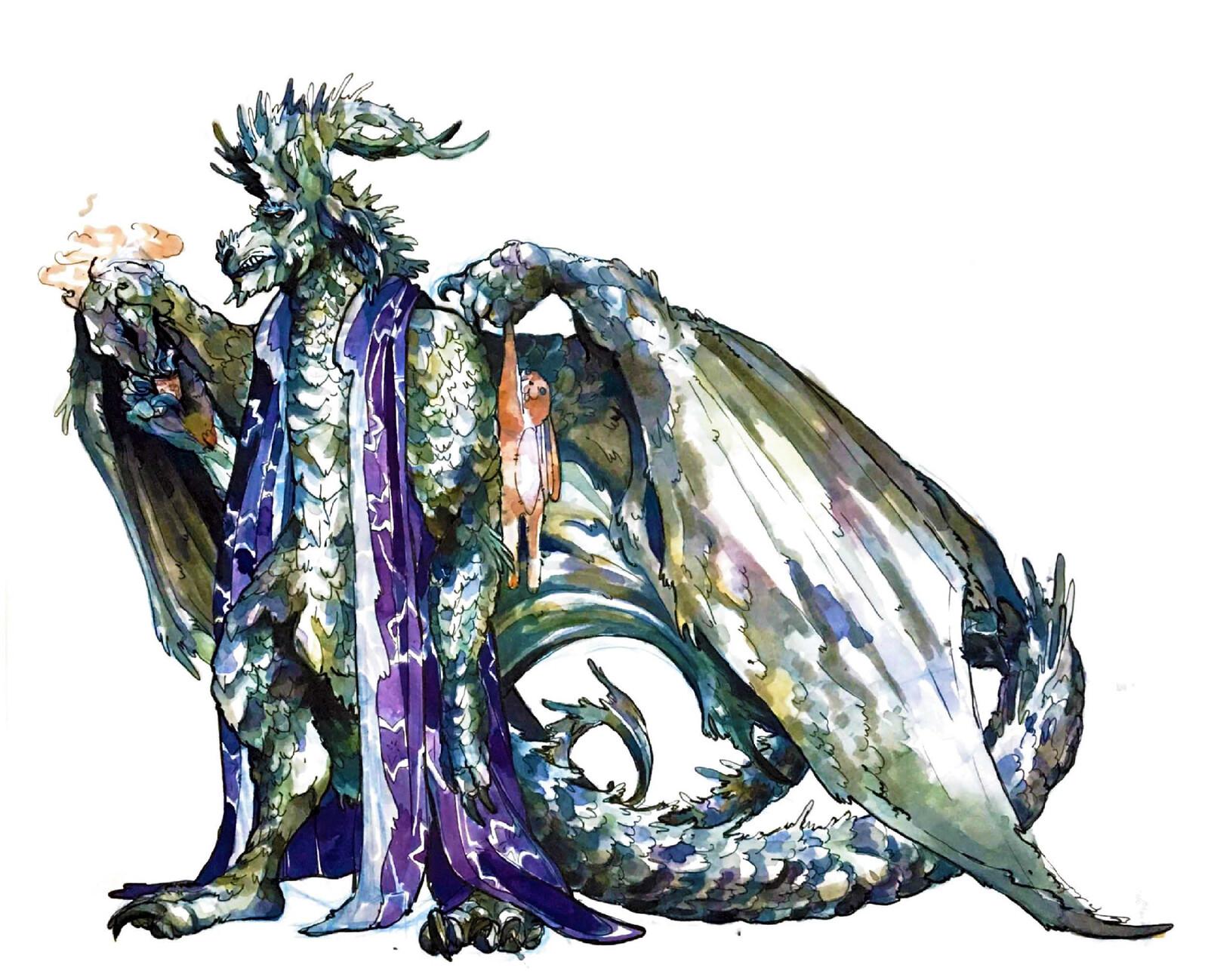 Study: Corentin the Silver Dragonborne