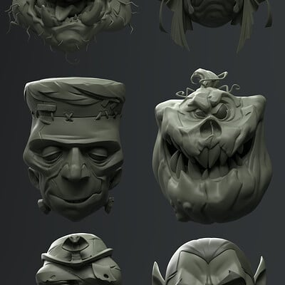 Girish srinivasagopalan monsters finalrender