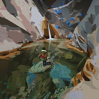 Yun ling rock water2