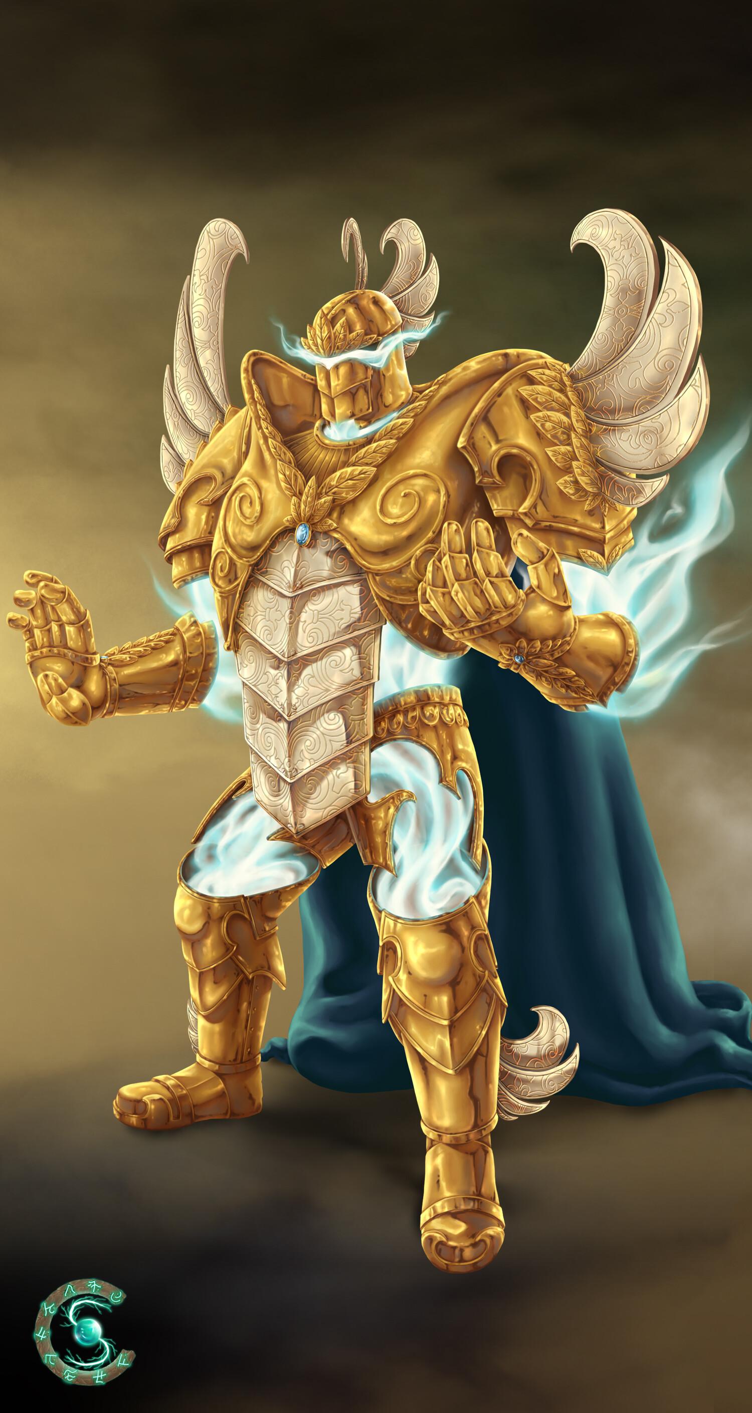 ArtStation - Sentient armour paladin for Spellcraft, Hanka