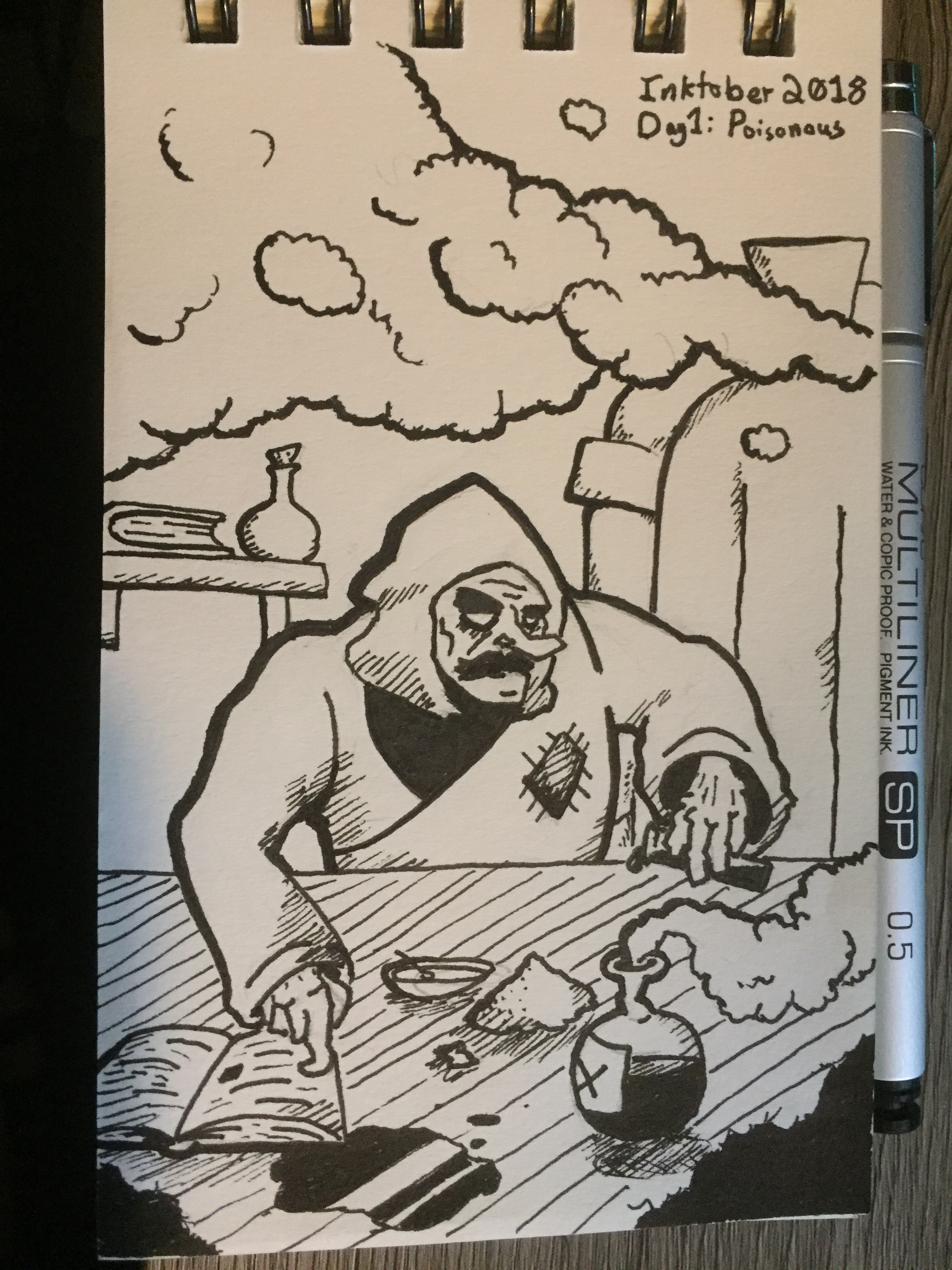 Day 1: Poisonous