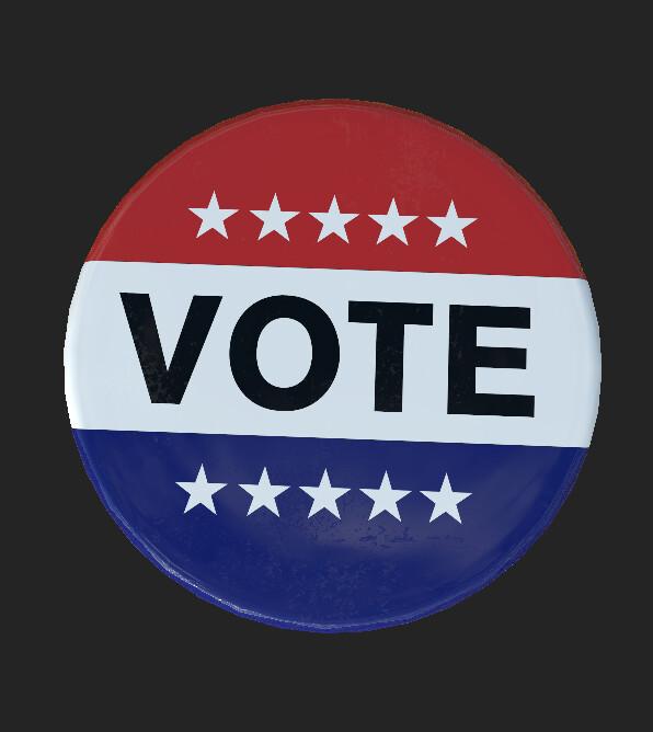 Voting Pin
