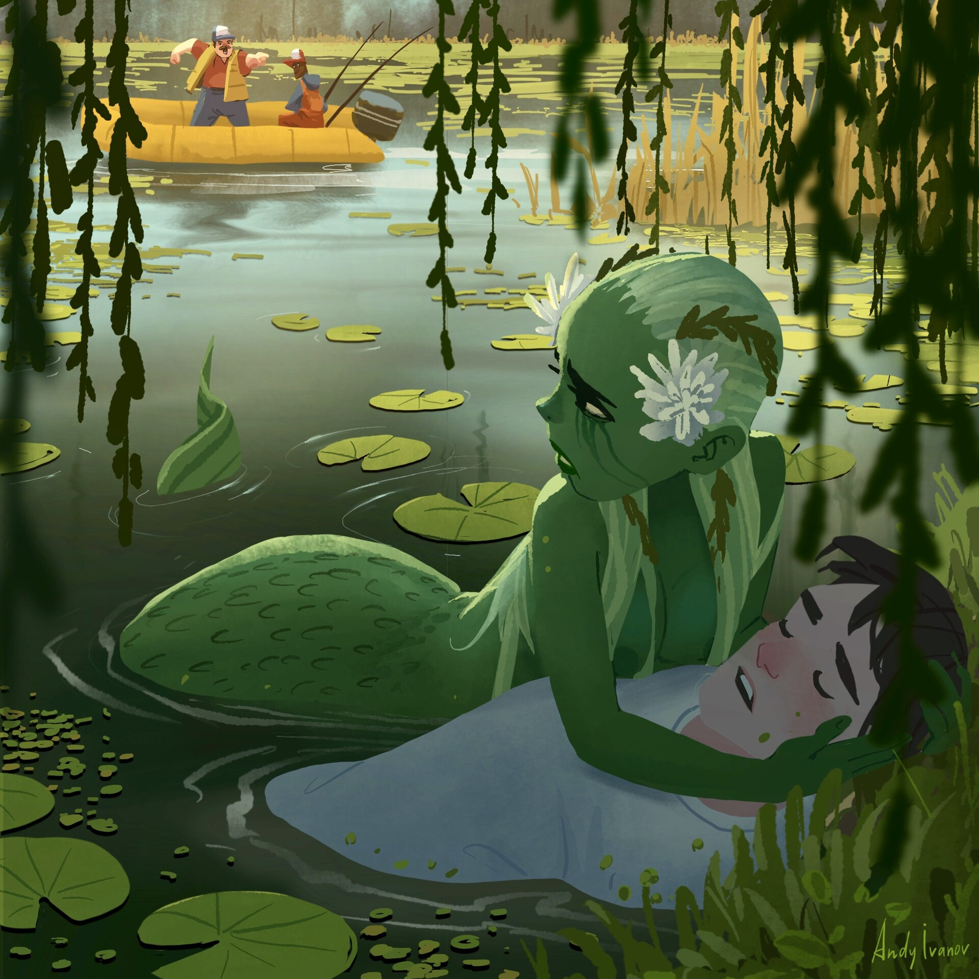 Image result for may the mermaid of lily lake