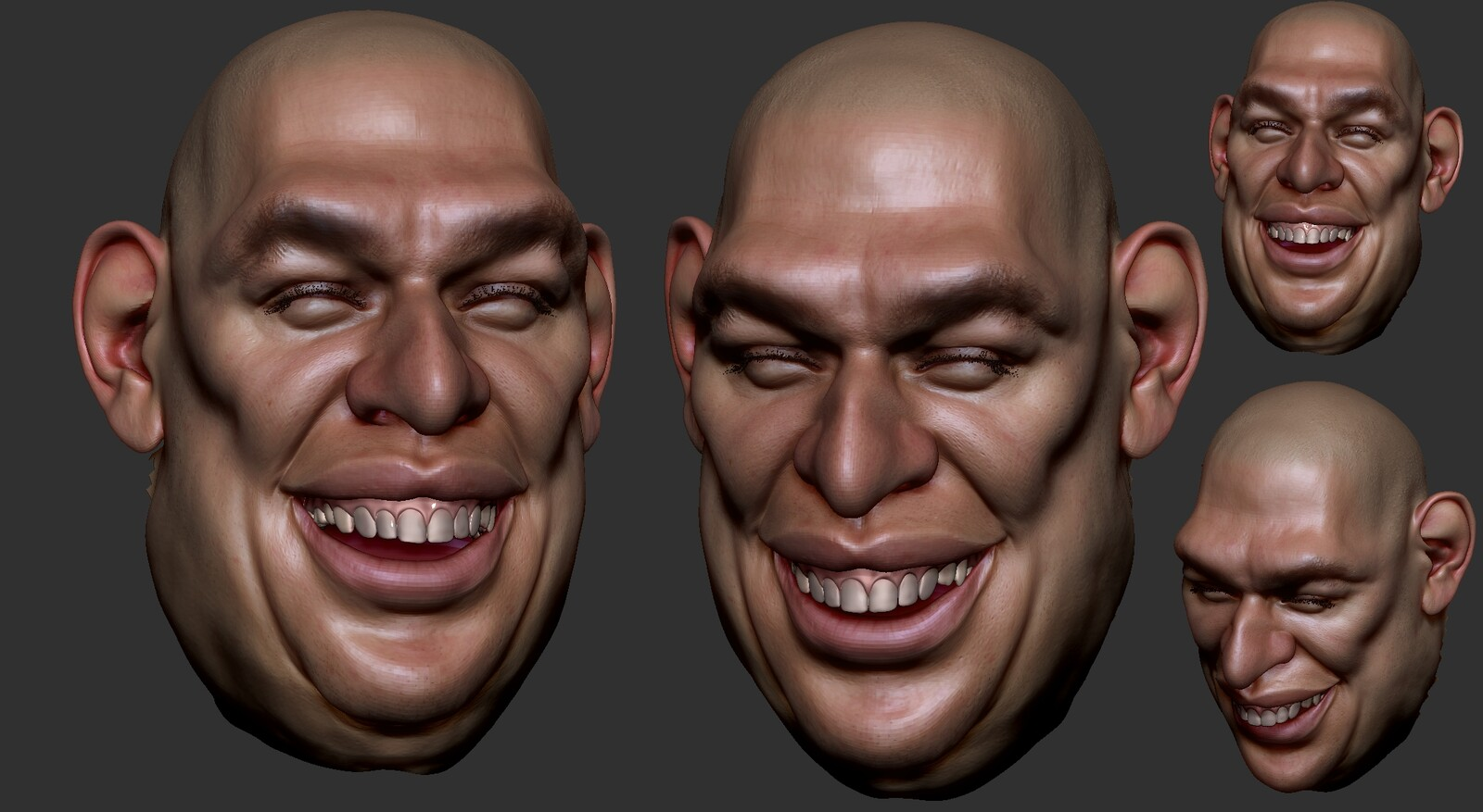 first demo sculpt for my students