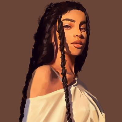 Chloe bigot portrait