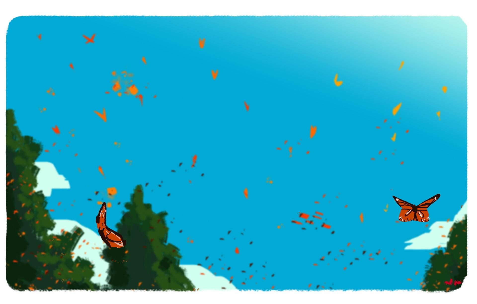 Jordan mitchell butterflies