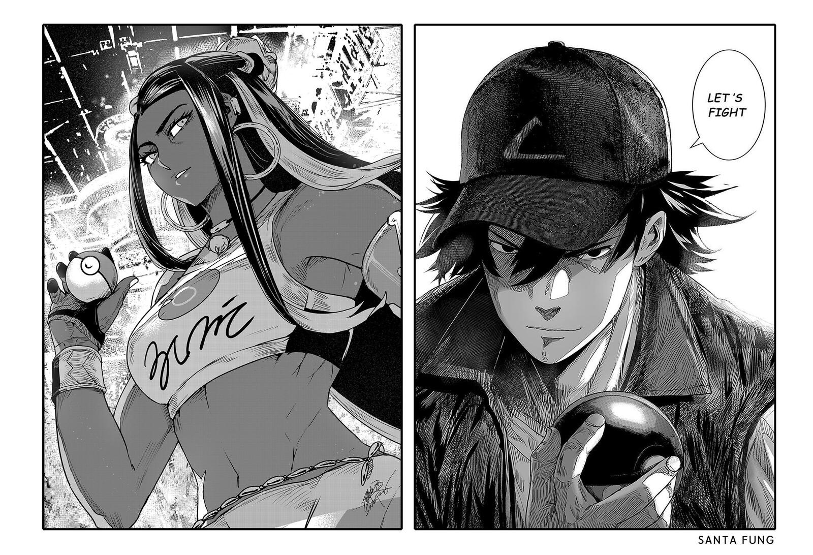 Nessa vs Ash