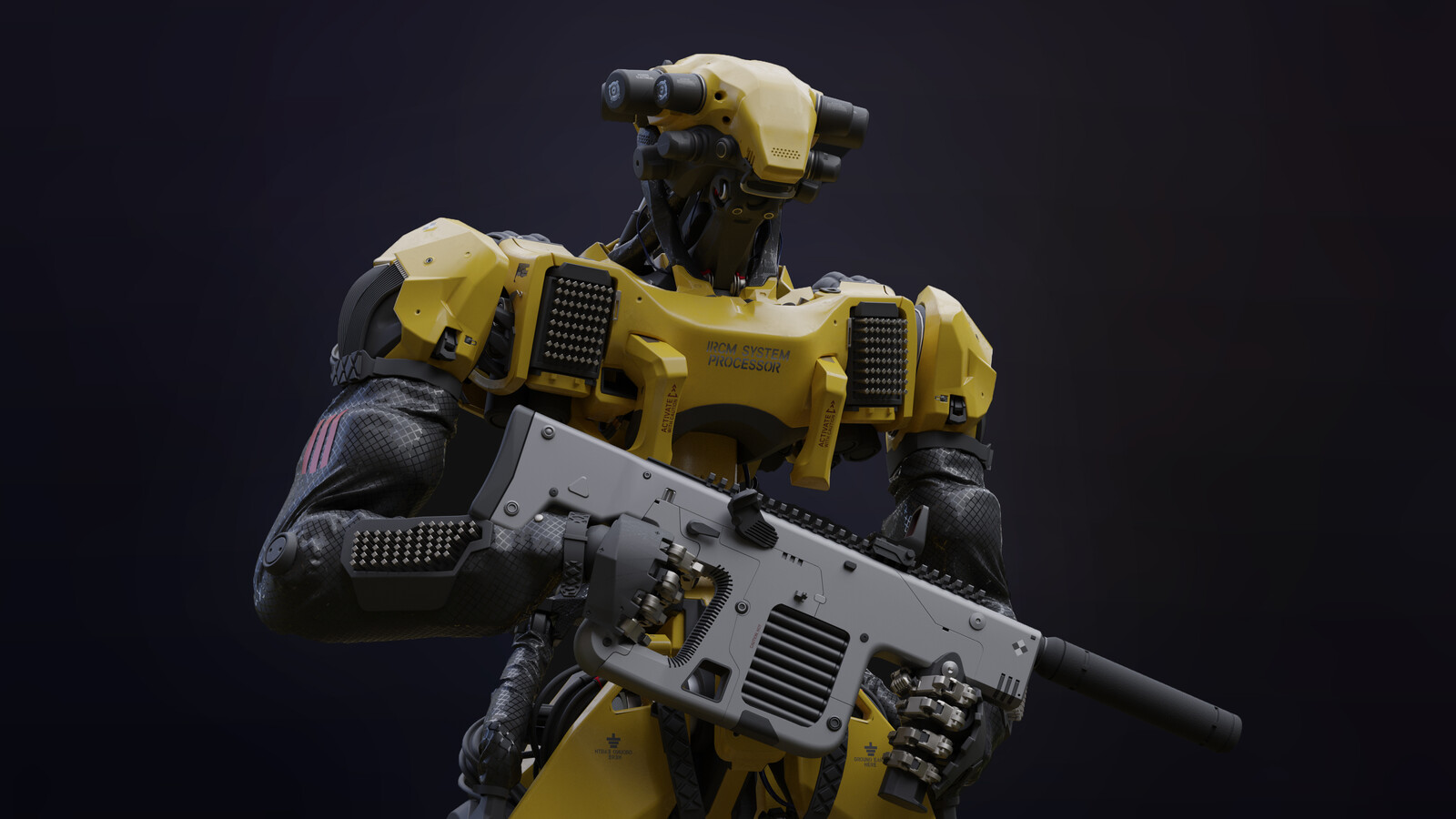 Interceptor Fighter Character