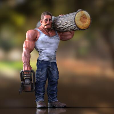 Tokomotion base male muscular promo02
