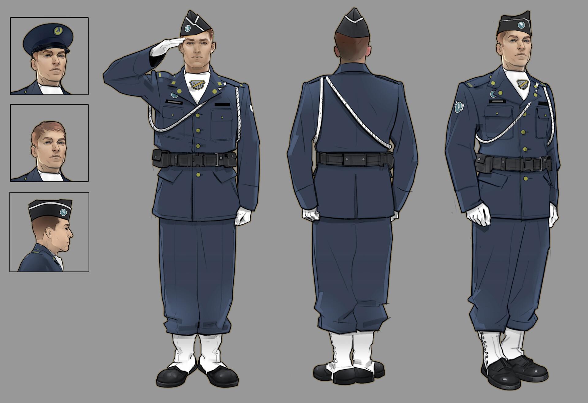 Chris ortega military outfit