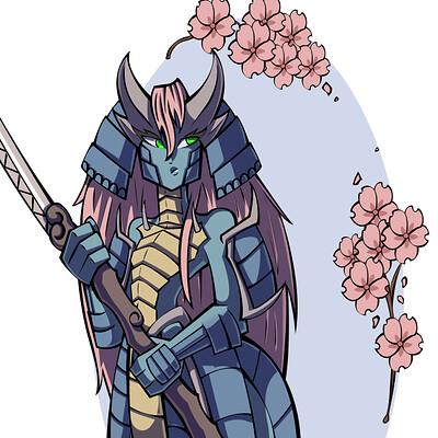 Jason licht dragon samurai