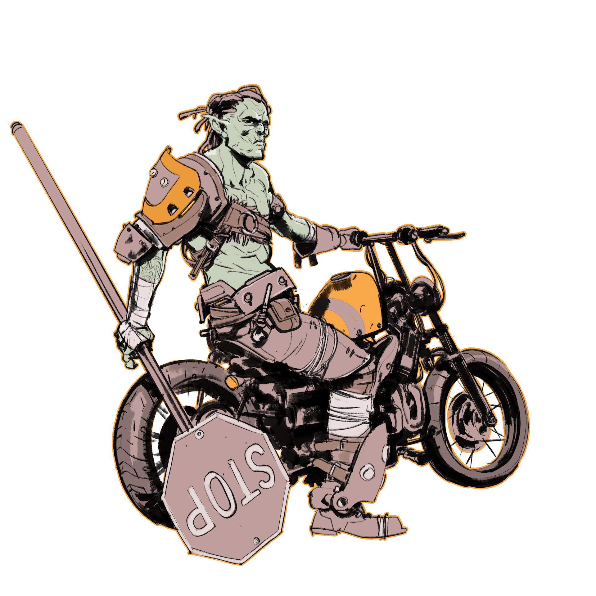 Chris ortega bike
