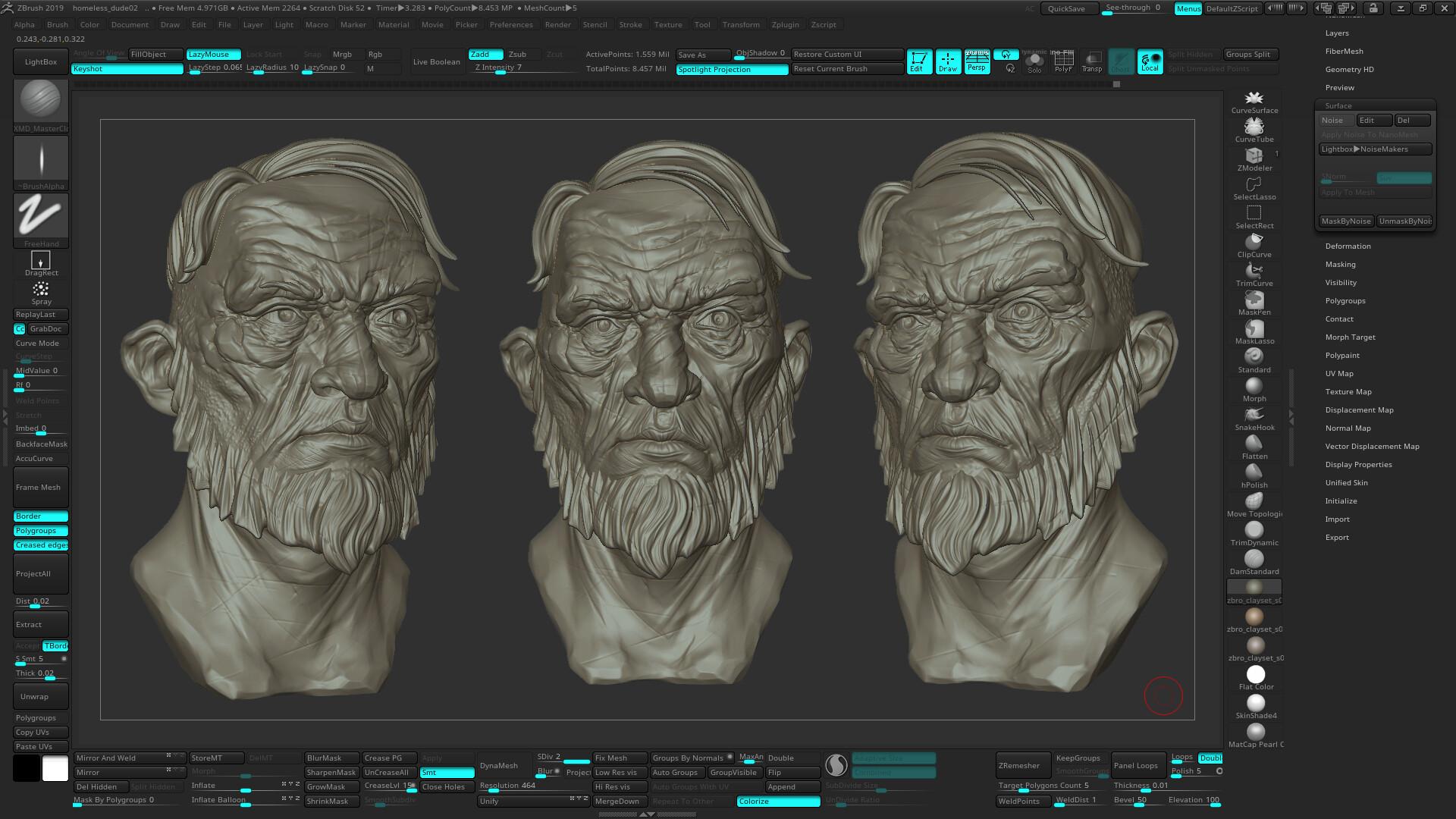 Artem bespalov old dude artstation02