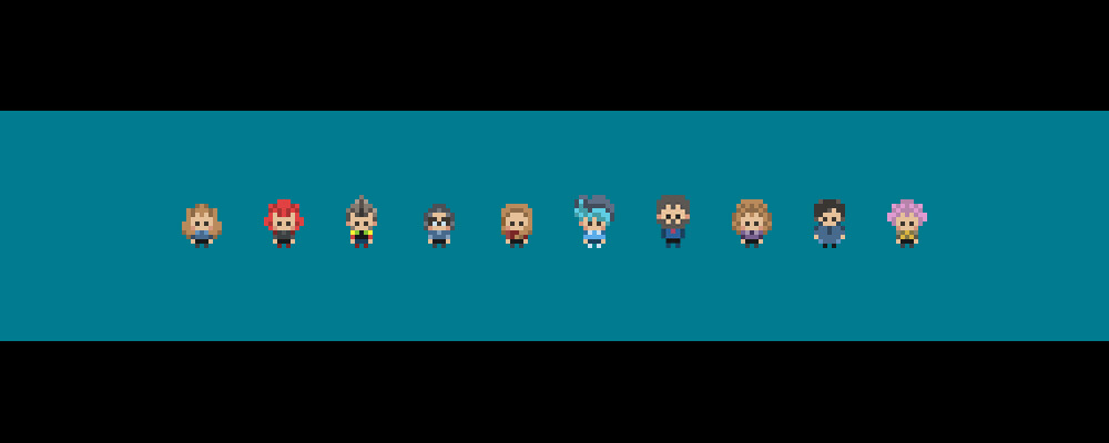 Small sprites (videogame size)