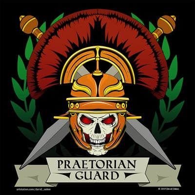 Praetorian Guard Gaming Community Logo