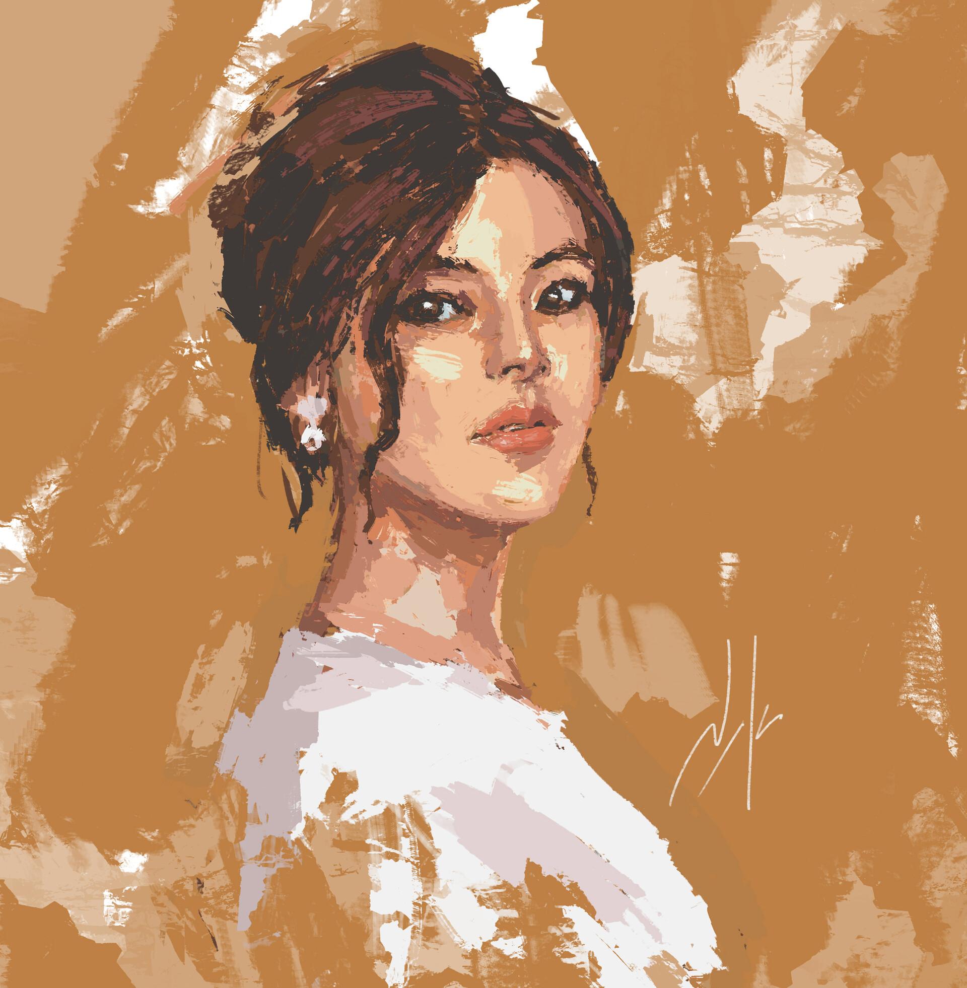 Naka isurita portrait practice 07