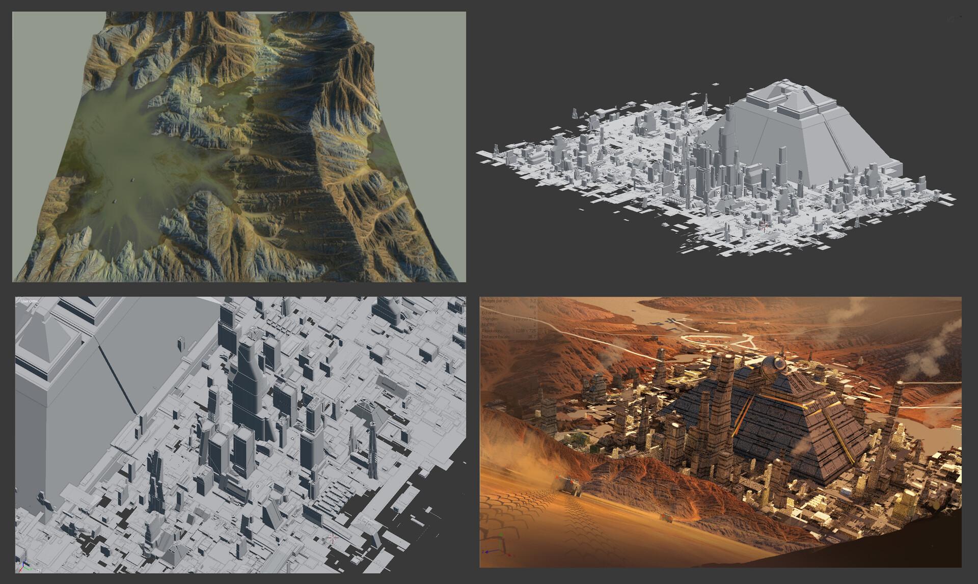 3D assets & Thumbnail I did the 3D elements by following Jama Jurabaev's Blender Tutorials.