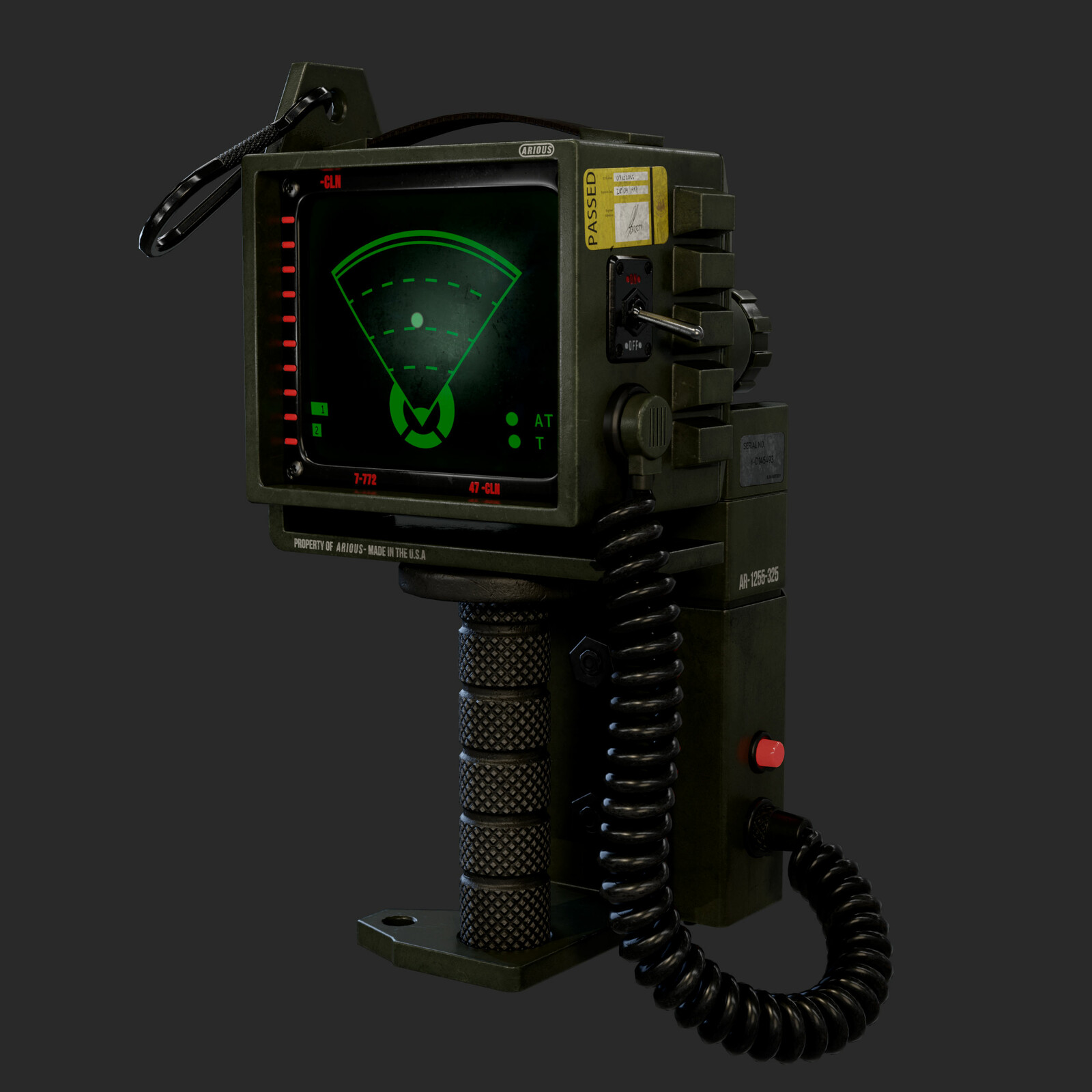 Motion Tracker | Alien Isolation Fan Art