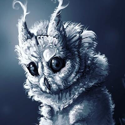 Marianne eie owly creature