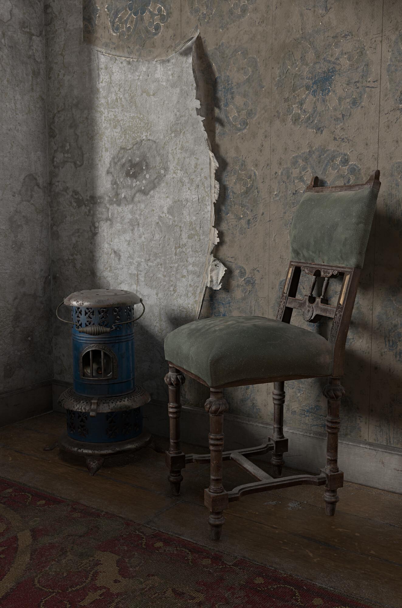 Andrii zelfit mykhailov victorian room