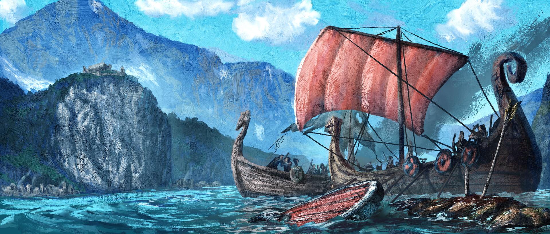 Technique Test: Fjord Skirmish (updated version)