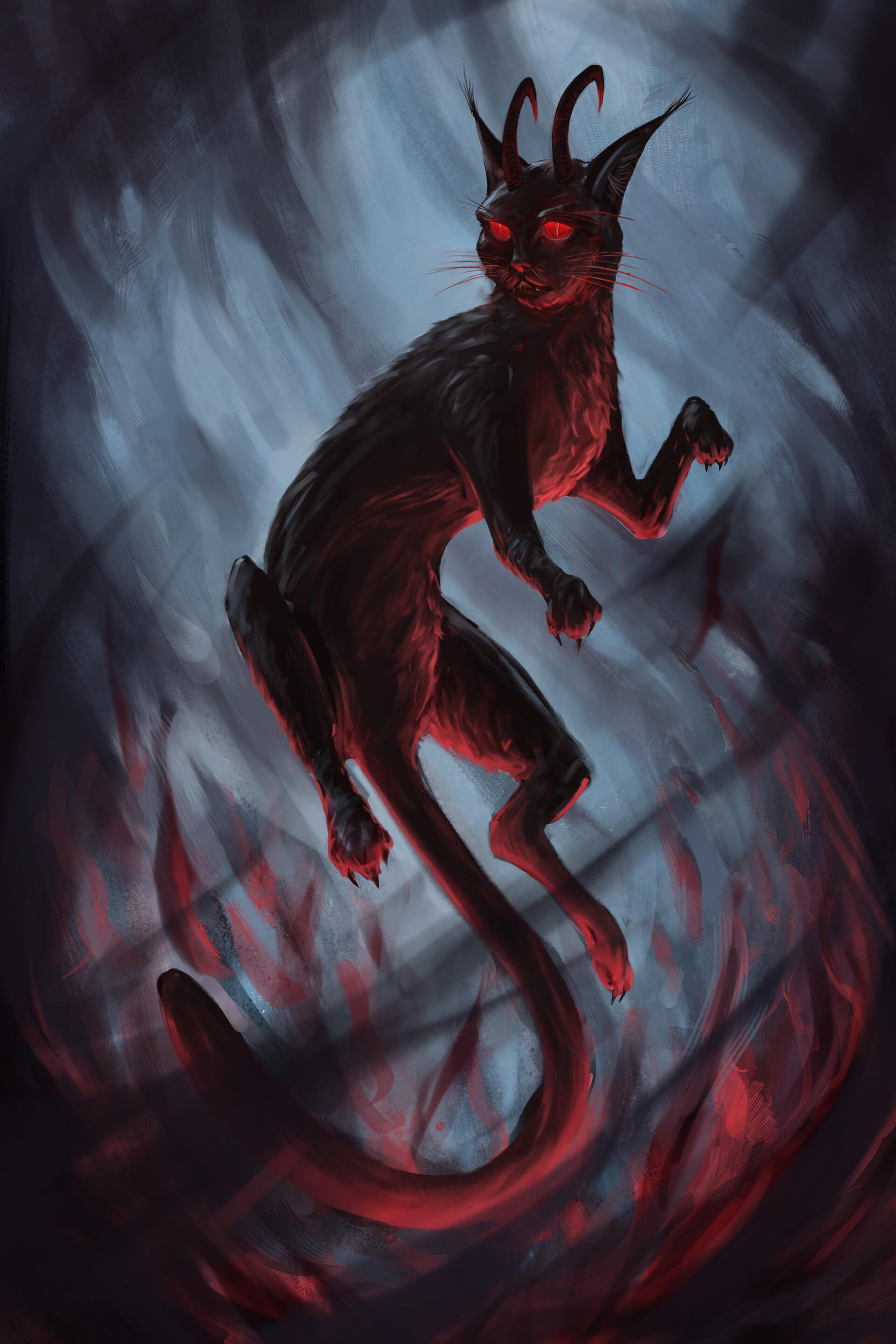 картинки монстров кошечек поджелудочной