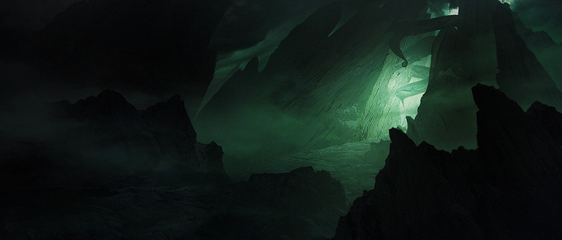 ArtStation - RAGNAROK - THE CAVE, Morgane Herbstmeyer