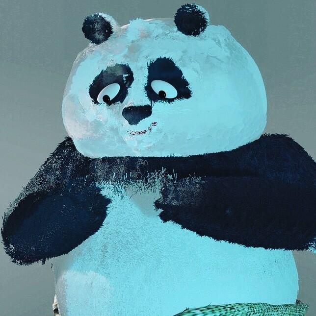 Cute Kungfu Panda