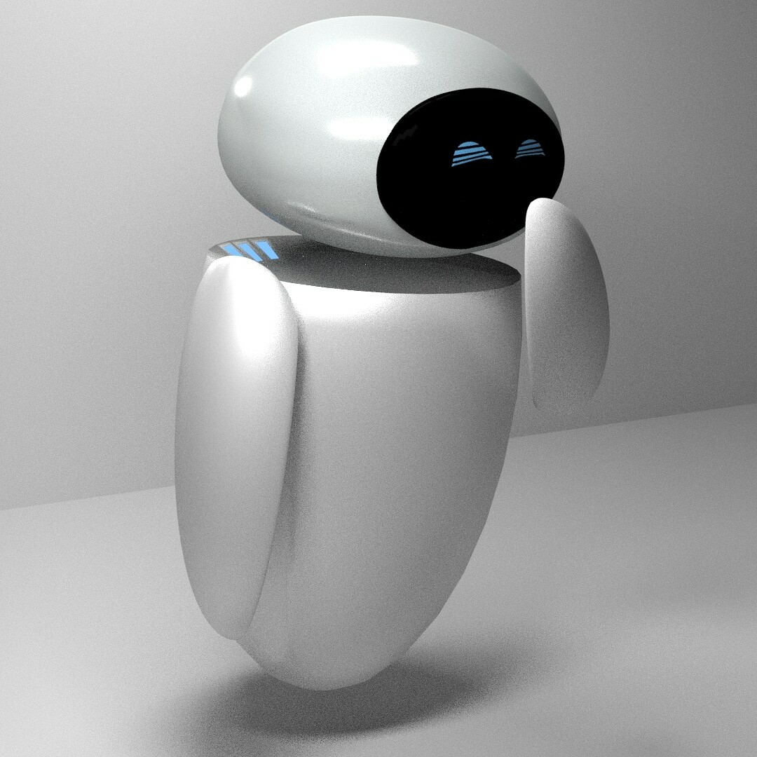 My master piece- Eve from WALL-E