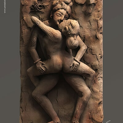 Surajit sen erotic reliefsculpt khajuraho indiasurajitsen