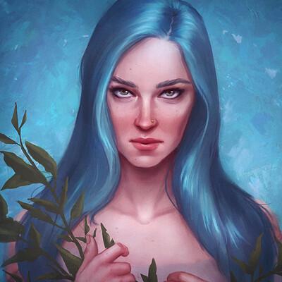 Mayara sampaio sketch blue21