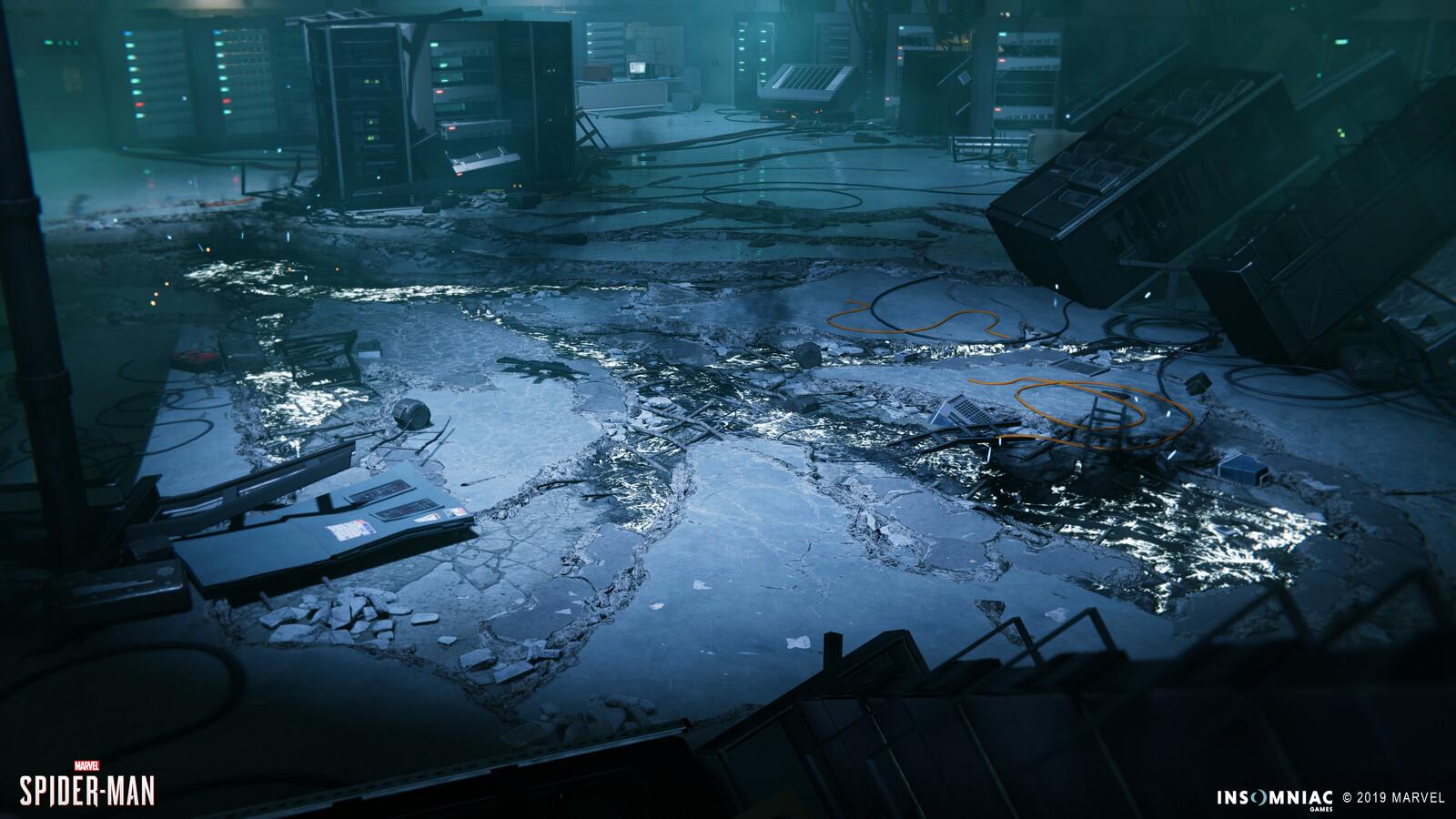SPIDER-MAN PS4 - Cinematic Floor Destruction